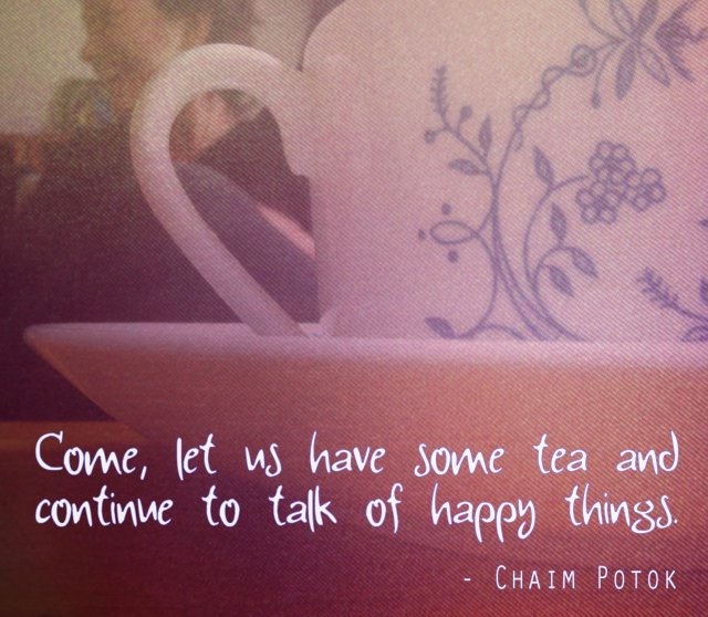 quote - chaim potok